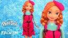 Play Doh Karlar Ülkesi Anna Oyun Hamuru Kıyafet Giydirme Tasarımı Frozen Oyuncak İzle