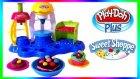 Play Doh Neşeli Pastacı Oyun Hamuru Seti ile Pasta Cupcake Kurabiye Yapımı