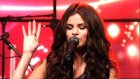 Selena Gomez performs Birthday on LIVE with Kelly and Michael.