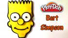 Oyun Hamuru ile Bart Simpson Yapımı - Oyun Hamuru Videoları