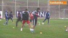 Sivasspor, Eskişehirspor Maçı Hazırlıklarını Sürdürdü