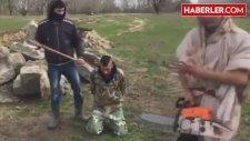 Çingene Gençler IŞİD'e Özenip Kafa Kesme Videosu Çekti