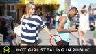 Genç Kız Herkesi Hayrete Düşürdü!