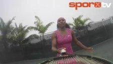 Serena Williams'tan Beyonce klibi