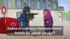 Filistinli Kadın İsrail Askerine Karşı (Animasyon)