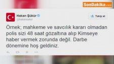 Hakan Şükür: Darbe Dönemine Hoş Geldiniz