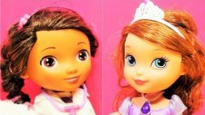 Prenses Birinci Sofia ve Doktor McStuffins - Piknik hazırlık evcilik oyunu- EvcilikTV