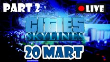 Cities Skylines Türkçe #2 [20 Mart 2015] [Can'lı Yayın]