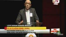 G.Saray Genel Kurulu'nda Mahmut Uslu'ya sert sözler