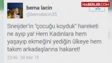 Berna Laçin'in Attığı Sneijder Tweet'i Tepki Çekti
