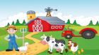 Old Macdonald Had A Farm - Okul Öncesi İngilizce Çocuk Şarkısı