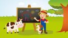 The Farmer In The Dell - Okul Öncesi İngilizce Çocuk Şarkısı