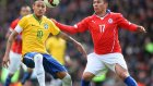 Brezilya 1-0 Şili - Maç Özeti (29.3.2015)