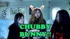 Kızlarla Yeme Yarışması | Tombul Tavşan - Chubby Bunny Challenge