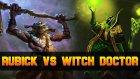 Dota 2 Rubick vs Witch Doctor