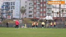 Albimo Alanyaspor, Boluspor Maçı Hazırlıklarını Sürdürdü