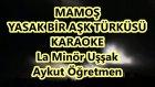 MAMOŞ PENCEREDEN BİR TAŞ GELDİ La Minör Uşşak Karaoke Md Altyapısı Türkü Sözü