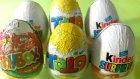 Kinder Sürpriz, Toto ve Toybox Sürpriz Yumurtalar - 6 Sürpriz Yumurta Açıyoruz!