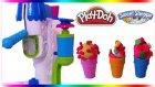 Play Doh Dondurma Dükkanı Seti Oyun Hamuru Oyuncak Dondurma Makinesi ile Dondurma Yapımı