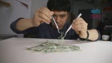 Kağıt Parçalarından Sanat Eserleri Yarattı