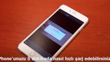 iPhone'unuzu 5 Dakikada Nasıl Hızlı Şarj Edebilirsiniz?