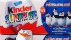 Kinder Madagaskar Penguenleri Sürpriz Yumurtalar Yeni 2015 Oyuncakları