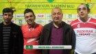 Buzkıran İnşaat vs Bahçelievler FC Basın Toplantısı Antalya iddaa RakipBul Ligi 2015 Açılış Sezonu