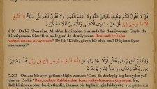 Peygamberin Ahlakıda Sünnetide KURAN'DIR ( Sünnetullah )