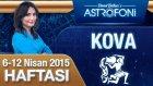KOVA burcu haftalık yorumu 6-12 Nisan 2015
