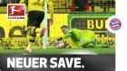 Manuel Neuer'den inanılmaz kurtarış