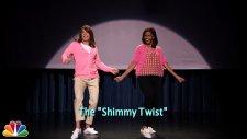Michelle Obama ve Jimmy Fallon Yine Dans Etti