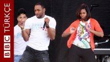 Michelle Obama Sağlıklı Gıda ve Spor İçin Sahnede