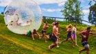 Su Topundan Kaçarak Eğlencenin Dibine Vuran İnsanlar