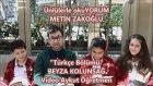Ünlülerle Okuyorum Metin Zakoğlu Beyza Kolunsağ Mektebim Koleji Türkçe Bölümü