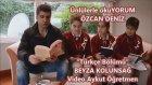 Ünlülerle Okuyorum Özcan Deniz Beyza Kolunsağ Mektebim Koleji Türkçe Bölümü
