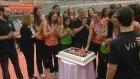 Şampiyonluğu pastayla kutladılar