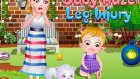 Hazel Baby Leg İnjury #please Subscribe Channel