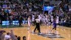 Trey Burke kendi sahasından basket attı