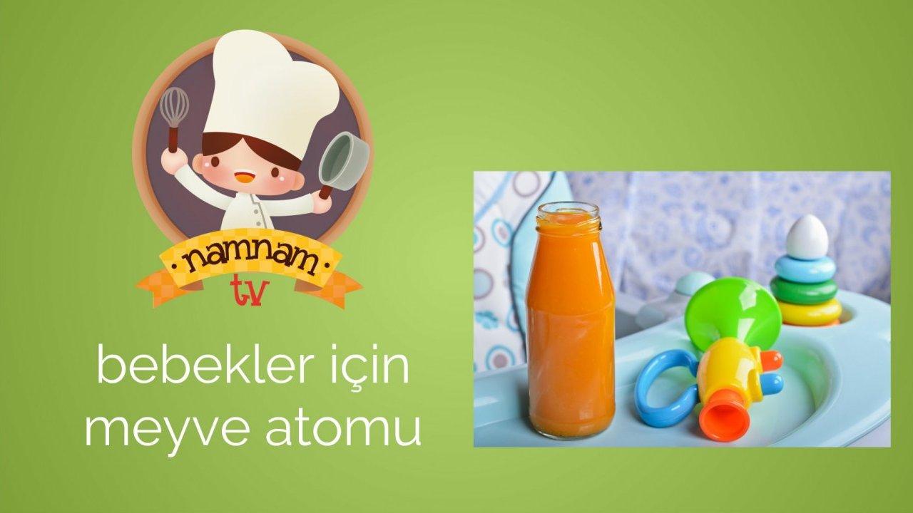 Bebek İçin Meyve Püresi Nasıl Yapılır Videosu