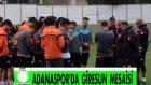 Adanaspor'da Giresunspor Maçı Hazırlıkları Sürüyor