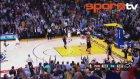 Curry'den 3 sayılık basket rekoru