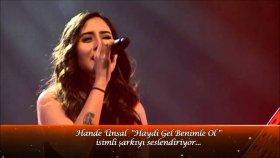Hande Ünsal - Haydi Gel Benimle Ol (Canlı Performans)