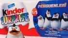 Kinder Sürpriz Yumurta Madagaskar Penguenleri 2015 Yeni Oyuncaklı Yumurtalar Oyun Hamuru TV