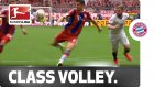 Lewandowski'den çok klas bir vole golü