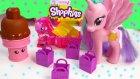 MLP Princess Celestia Shopkins Season 2 Pack Blind Bags My Little Pony Pinkie Pie Toy Unboxing