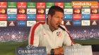"""Simeone: """"İki Takımın da Çok Yüksek Tempoda Bir Futbol Oynayacağını Tahmin Ediyorum"""""""