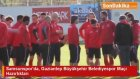 Samsunspor'da, Gaziantep Büyükşehir Belediyespor Maçı Hazırlıkları