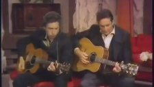 Johnny Cash & Bob Dylan - Girl From The North Country (Konser)