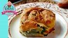 Ispanaklı Gül Böreği (El Açması)