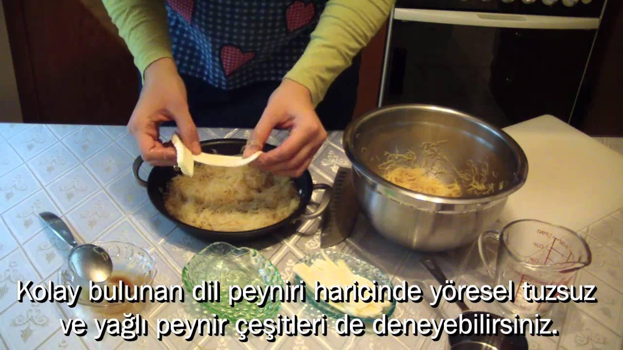 Künefe Tarifi Videosu